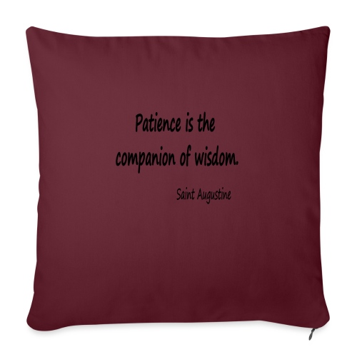 Peace and Wisdom - Sofa pillowcase 17,3'' x 17,3'' (45 x 45 cm)