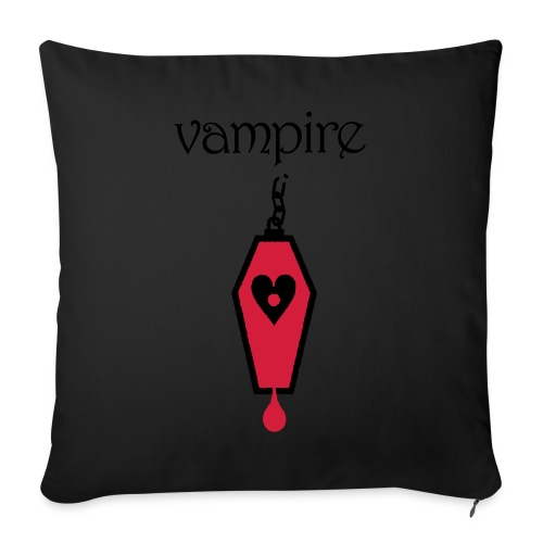 Vampire - Sofa pillowcase 17,3'' x 17,3'' (45 x 45 cm)