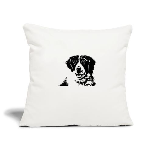 Barry - St-Bernard dog - Sofakissenbezug 44 x 44 cm