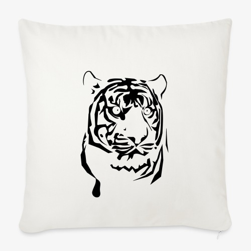 tiger - Poszewka na poduszkę 45 x 45 cm