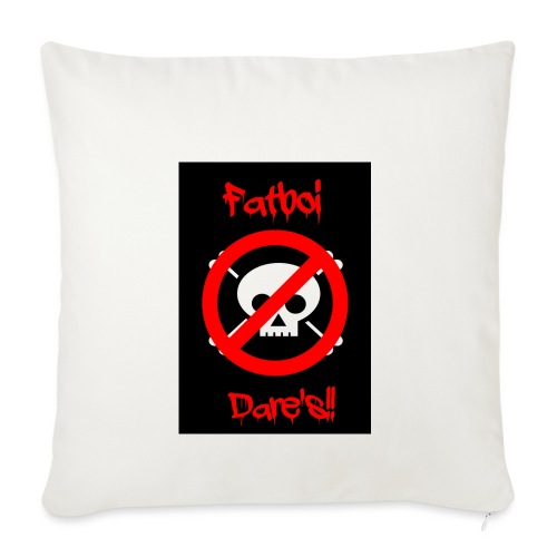 Fatboi Dares's logo - Sofa pillowcase 17,3'' x 17,3'' (45 x 45 cm)