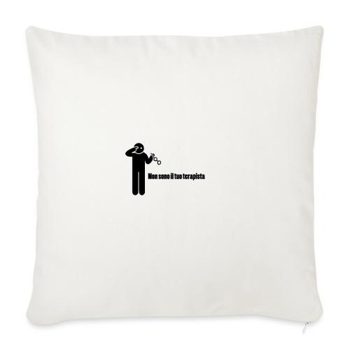 Terapista - Copricuscino per divano, 45 x 45 cm