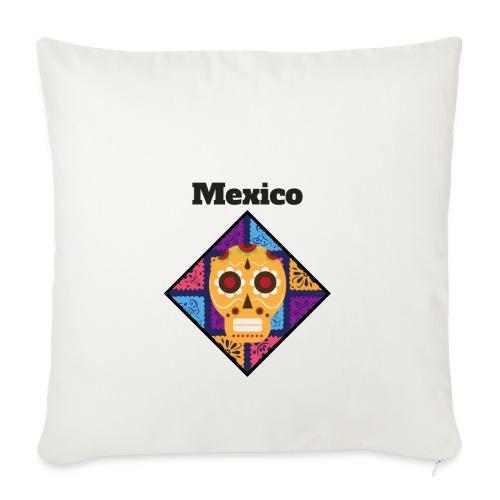 Mexico Calavera - Funda de cojín, 45 x 45 cm