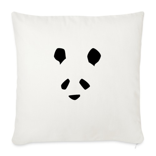 Simple Panda - Sofa pillowcase 17,3'' x 17,3'' (45 x 45 cm)