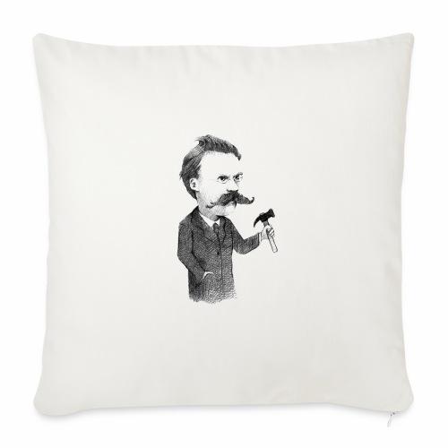Friedrich Nietzsche - Funda de cojín, 45 x 45 cm