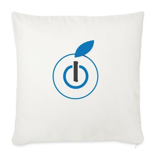 Logo AZ - Copricuscino per divano, 45 x 45 cm