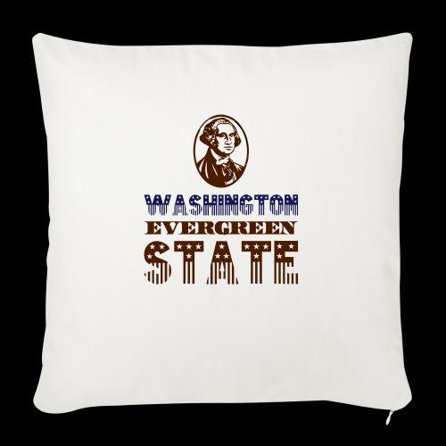 WASHINGTON EVERGREEN STATE - Sofa pillowcase 17,3'' x 17,3'' (45 x 45 cm)