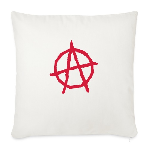 Anarchy Symbol - Sofa pillowcase 17,3'' x 17,3'' (45 x 45 cm)