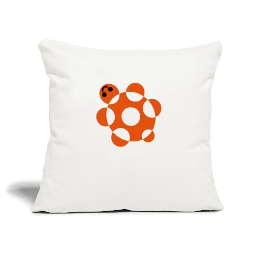 Tartaruga - Copricuscino per divano, 45 x 45 cm