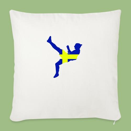 Ibra Sweden flag - Soffkuddsöverdrag, 45 x 45 cm