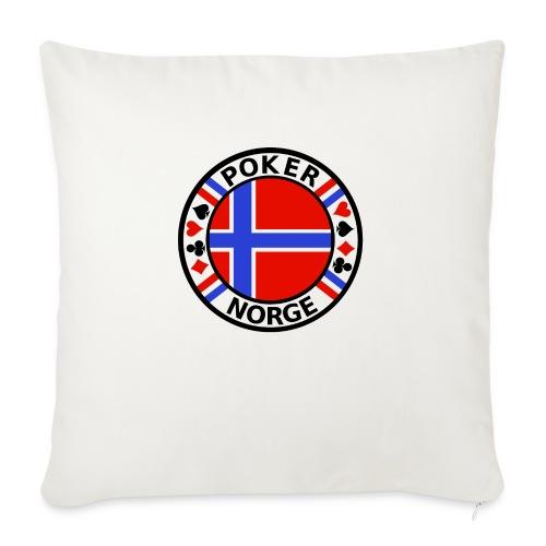 PoKeR NoRGe - Sofa pillowcase 17,3'' x 17,3'' (45 x 45 cm)