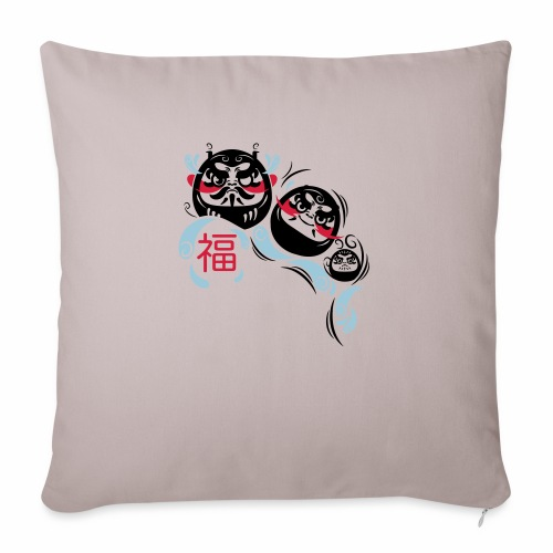 Daruma spirit - Copricuscino per divano, 45 x 45 cm