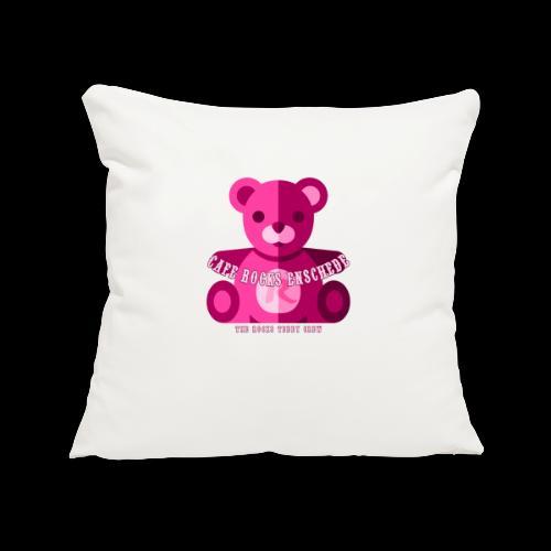 Rocks Teddy Bear - Pink - Sierkussenhoes, 45 x 45 cm