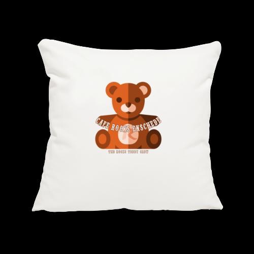 Rocks Teddy Bear - Brown - Sierkussenhoes, 45 x 45 cm