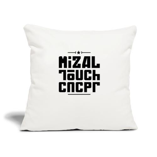 Logo MiZAL Touch Concept - Housse de coussin décorative 45x 45cm