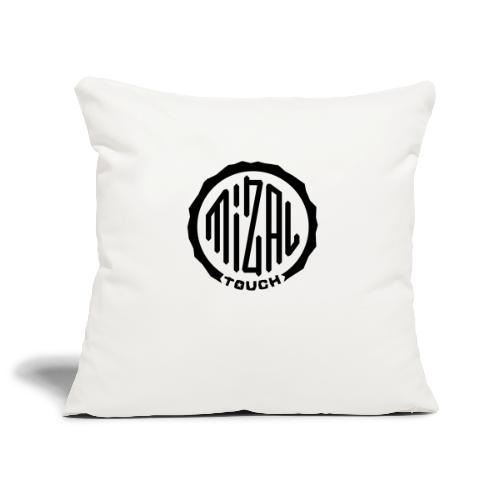 Mizal Touch Certified - Housse de coussin décorative 45x 45cm