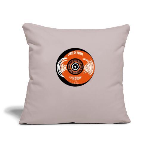 Wheel of justice - Sofa pillowcase 17,3'' x 17,3'' (45 x 45 cm)