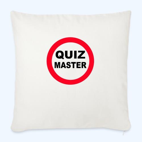 Quiz Master Stop Sign - Sofa pillowcase 17,3'' x 17,3'' (45 x 45 cm)
