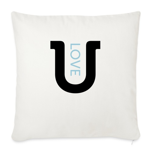love 2c - Sofa pillowcase 17,3'' x 17,3'' (45 x 45 cm)