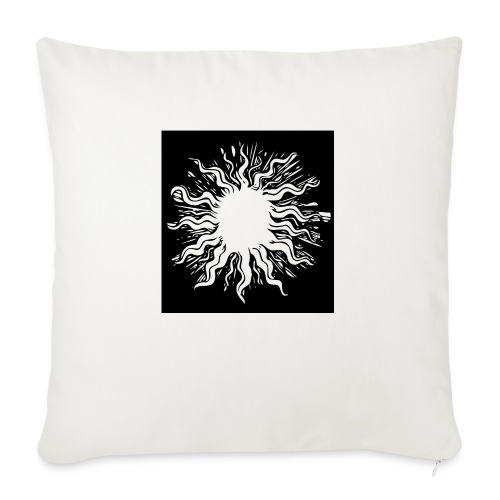 sun1 png - Sofa pillowcase 17,3'' x 17,3'' (45 x 45 cm)