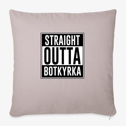 Straight Outta Botkyrka - Soffkuddsöverdrag, 45 x 45 cm