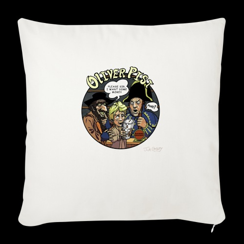Oliver Pist - Sofa pillowcase 17,3'' x 17,3'' (45 x 45 cm)