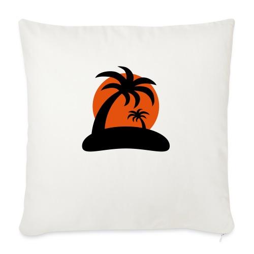 palm island sun - Sierkussenhoes, 45 x 45 cm