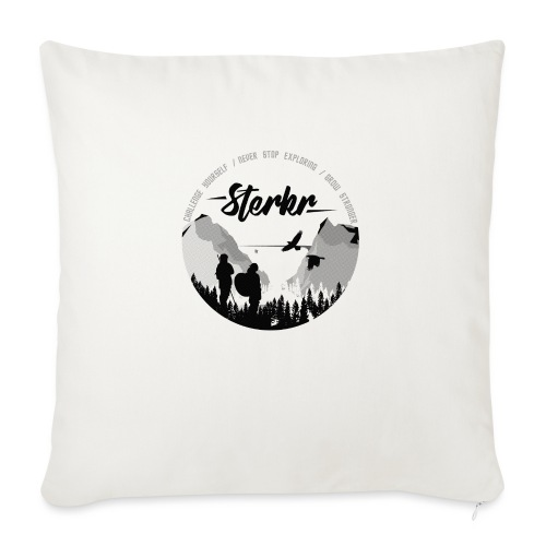 STERKR - Fjordview - Sofa pillowcase 17,3'' x 17,3'' (45 x 45 cm)
