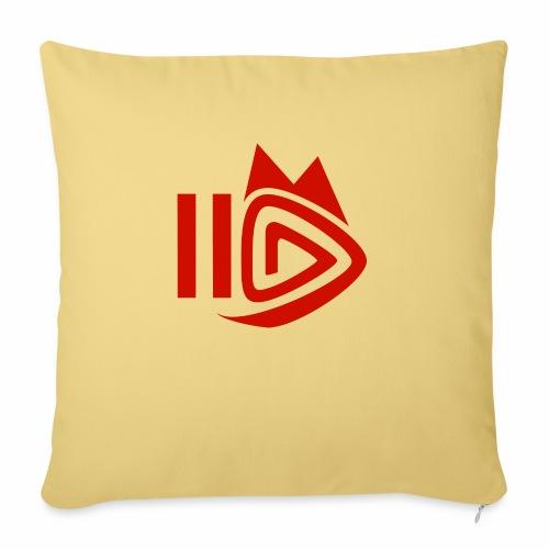 HitFuchs.FM logo - Sofa pillowcase 17,3'' x 17,3'' (45 x 45 cm)