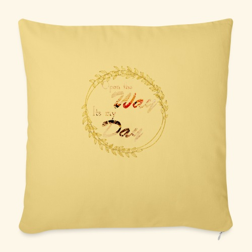 its my day weddingcontest - Sofa pillowcase 17,3'' x 17,3'' (45 x 45 cm)