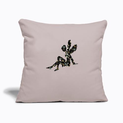 fairy abstract - Sofa pillowcase 17,3'' x 17,3'' (45 x 45 cm)