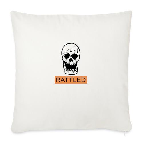 Rattled Spooky Halloween Skeleton Meme - Sofa pillowcase 17,3'' x 17,3'' (45 x 45 cm)