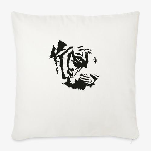 Tiger head - Housse de coussin décorative 45x 45cm