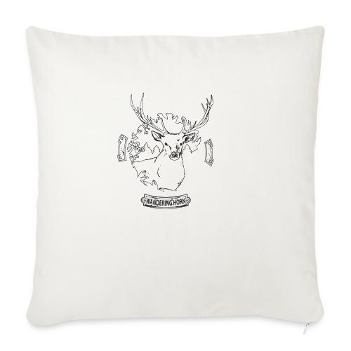 Cervo - Wandering Horn - Copricuscino per divano, 45 x 45 cm