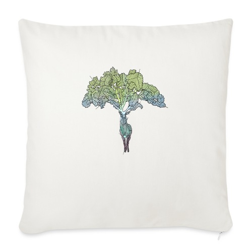 Treedeer - Sofa pillowcase 17,3'' x 17,3'' (45 x 45 cm)