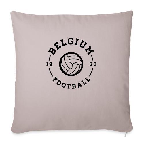 Belgium football - Belgique - Belgie - Housse de coussin décorative 45x 45cm