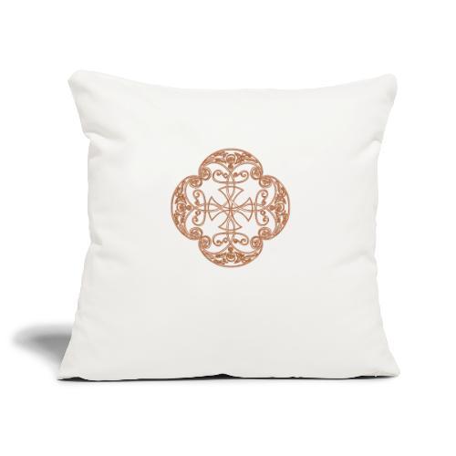 Anglian gold (Mellowed) - Sofa pillowcase 17,3'' x 17,3'' (45 x 45 cm)