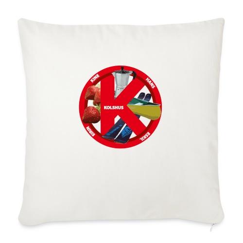 logoforeskil - Sofa pillowcase 17,3'' x 17,3'' (45 x 45 cm)