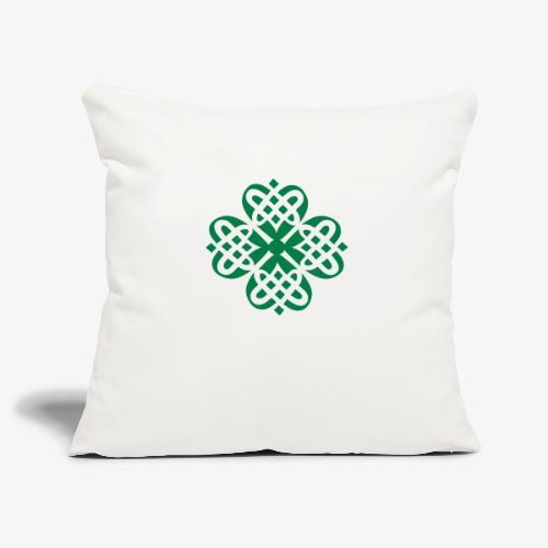 Shamrock Celtic knot decoration patjila - Sofa pillowcase 17,3'' x 17,3'' (45 x 45 cm)