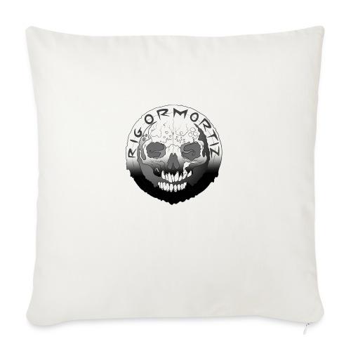Rigormortiz Black White Design - Sofa pillowcase 17,3'' x 17,3'' (45 x 45 cm)