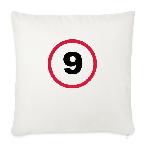 9 rätt är respekt - Soffkuddsöverdrag, 45 x 45 cm