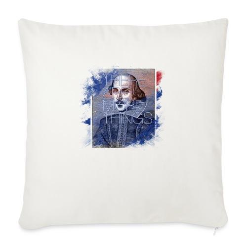 Shakespeare - Sofakissenbezug 44 x 44 cm