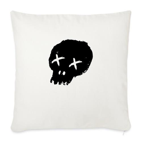 blackskulllogo png - Sofa pillowcase 17,3'' x 17,3'' (45 x 45 cm)