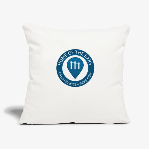 Calisthenics Parks Logo - Sofa pillowcase 17,3'' x 17,3'' (45 x 45 cm)