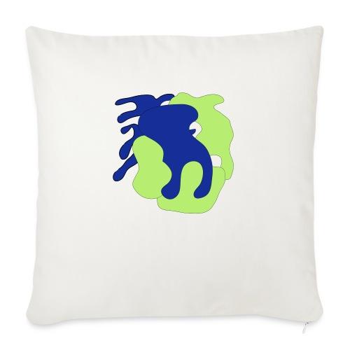Macchie_di_colore-ai - Copricuscino per divano, 45 x 45 cm