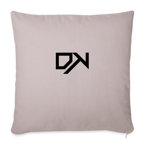 DewKee Logo T-Shirt Black - Sofa pillowcase 17,3'' x 17,3'' (45 x 45 cm)