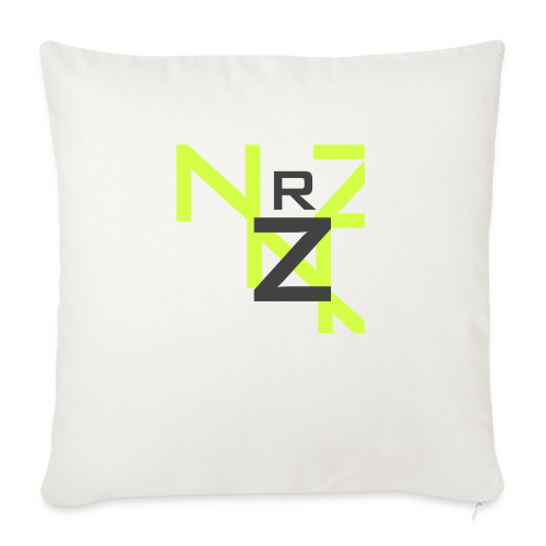 Nörthstat Group™ Clear Transparent Main Logo - Sofa pillowcase 17,3'' x 17,3'' (45 x 45 cm)