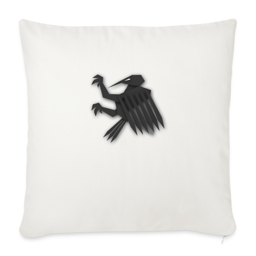Nörthstat Group ™ Black Alaeagle - Sofa pillowcase 17,3'' x 17,3'' (45 x 45 cm)