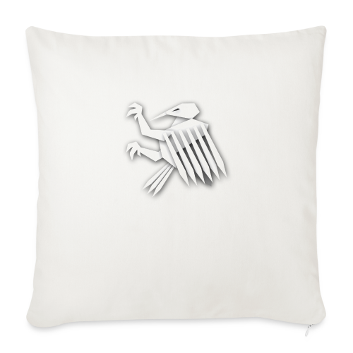 Nörthstat Group ™ White Alaeagle - Sofa pillowcase 17,3'' x 17,3'' (45 x 45 cm)