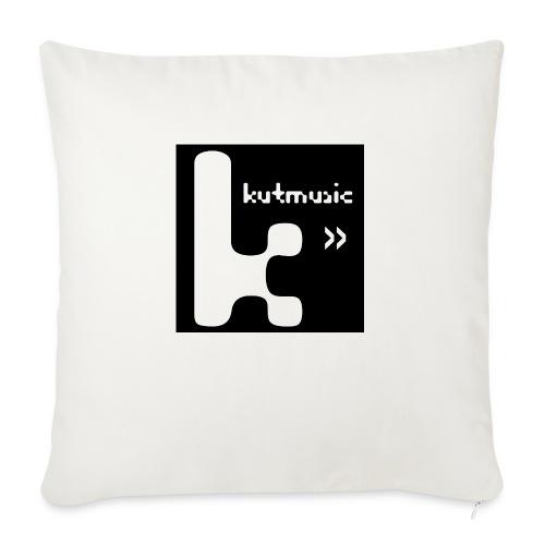 Kutmusic black - Copricuscino per divano, 45 x 45 cm